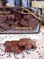 Milk Choc.Turtlettes pecans/carmel 12 oz.